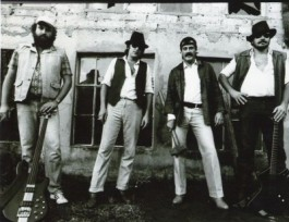 From the archives: Jack Hammer 1984 L-to-R: Eric Birckenstock, Piet Botha, Jan Maloney, Boet Faber First rehearsals at Slowfarm