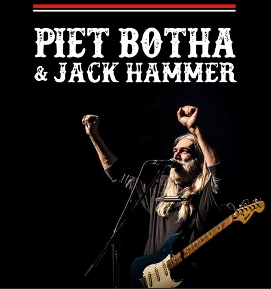 Piet Botha & Jack Hammer - Stage, Klerksdorp
