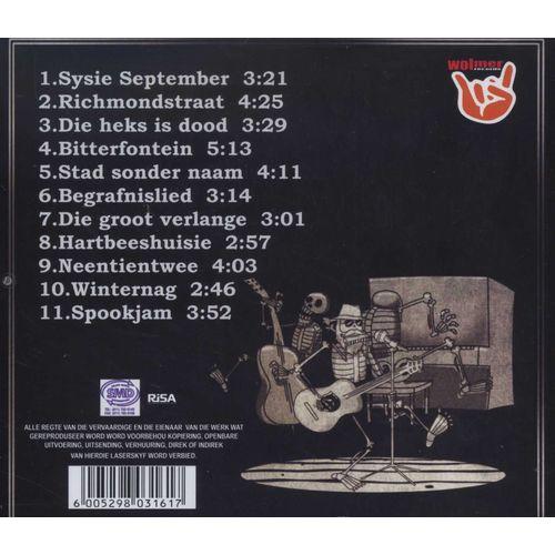 Piet Botha: Spookpsalms Back Cover